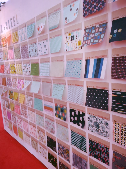 Cotton + Steel Booth