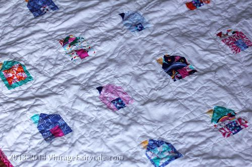 Mini Dwell Crib Quilt